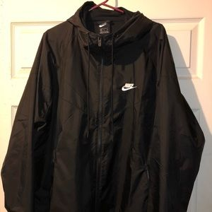 Nike Black Windrunner (windbreaker)